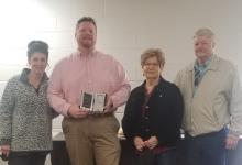 Ryan Stockham Receives Hero Award
