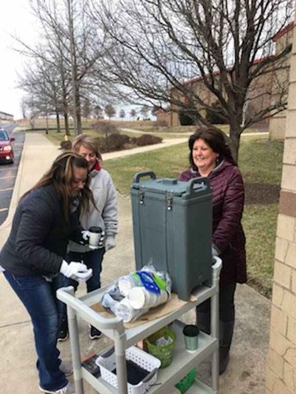 SOS & PTO Offers Free Coffee for Kindness Week