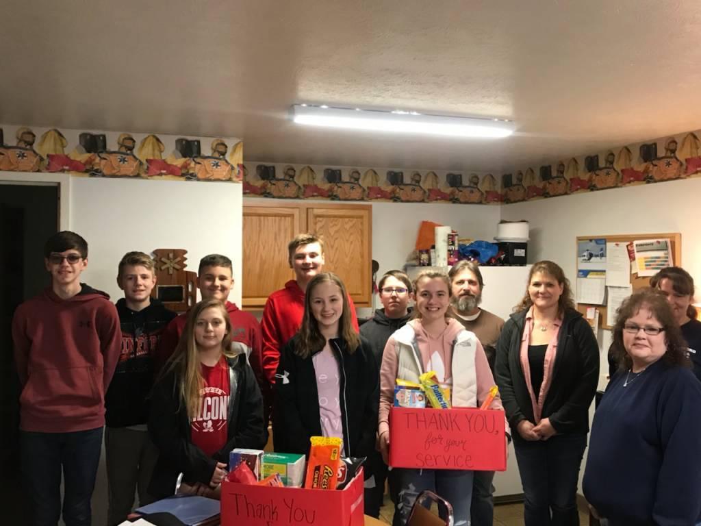 8th Grade Language Arts - Kindness Baskets for MFD